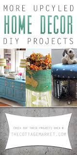 upcycled home decor ideas more upcycled home decor diy projects diy room décor