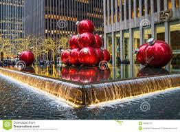rockefeller center tree ornament lights
