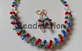 bead bracelet make necklace images Beadination how to make the fishbone spiral beaded necklace or jpg