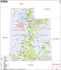 Map Of Nevada And Utah by Utah Map Map Of Utah Ut Map