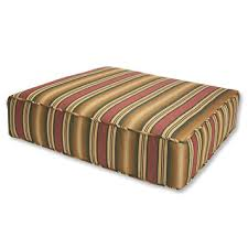 Patio Furniture With Sunbrella Cushions Outdoor Sunbrella Cushion Mettowee Seat Replacement