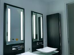 illuminated mirrors for bathrooms lit bathroom mirror justget club