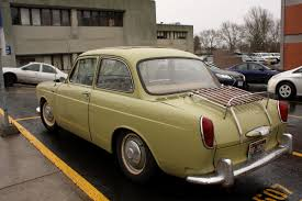 old volkswagen type 3 old parked cars 1962 volkswagen type 3 notchback