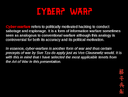 sun tzu and the art of cyber war krypt3ia