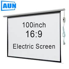 motorized home theater screen online buy wholesale motorized projector screen from china