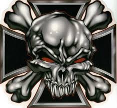 skull iron cross search skulls
