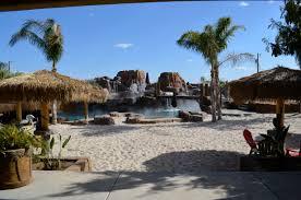 volcano oasis backyard tropical paradise