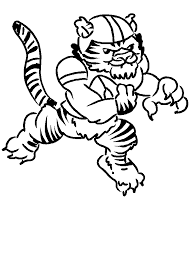 American Football Coloring Pages 1 Coloring Kids Football Coloring Page
