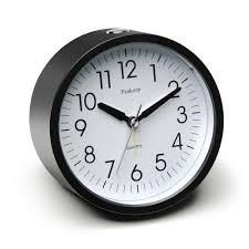 battery operated illuminated alarm clocks