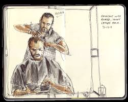 pictures of hair cut for year a new hair cut for a new year urban sketchers