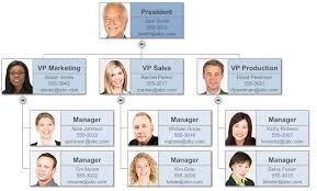 Template Organizational Chart by Organizational Chart Templates For Excel Build Org Charts In