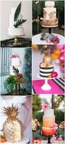 Tropical Themed Wedding Cakes - ideas and inspiration for your boho tropical theme wedding boho
