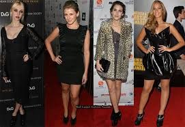 celebrities love ankle boots red carpet fashion awards