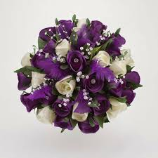 Purple Wedding Flowers 19 Best Purple Wedding Flowers Images On Pinterest Bridal