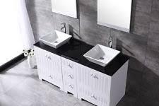 Bathroom Vanities With Glass Tops Glass Bathroom Vanity Sink Ebay