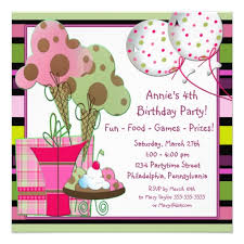 4th birthday invitation wording dancemomsinfo com