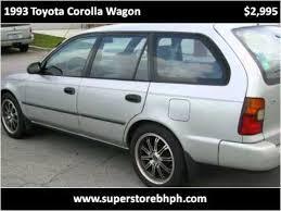 toyota corolla station wagon for sale 1993 toyota corolla wagon used cars nicholasville ky