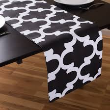 black and white table runners cheap black and white table runners in com designs chevron check cheap