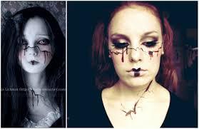 broken porcelain doll makeup tutorial mugeek vidalondon