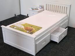 sleepland deluxe single bed frame sleepland beds