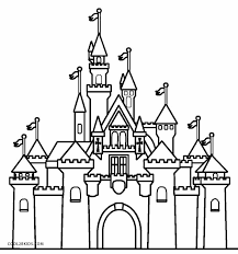 Printable Castle Coloring Pages For Kids Cool2bkids Coloring Pages Castles