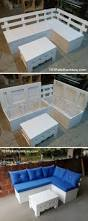 Outdoor Storage Bench Diy by Pallet Sectional Sofa With Storage Pallet Sectional Pallet