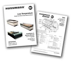 hussmann technical information