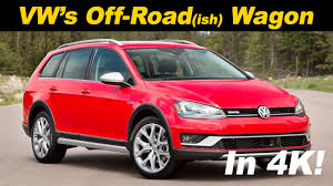 volkswagen wagon 2017 2017 volkswagen golf alltrack review and road test detailed in