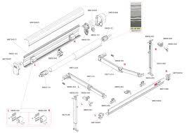 Rv Awning Roller Tube Fiamma Inc Service