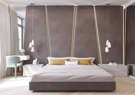 Grey Upholstered Headboard The Angular Upholstered Headboard In This Modern Bedroom Almost