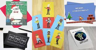 15 geeky christmas cards walyou