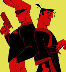 johnny bravo johnny bravo and evil samurai jack cartoon cartoons pinterest