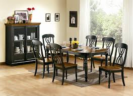 Awesome Black Dining Room Furniture Ideas Room Design Ideas - Black dining room furniture sets