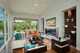 examples of what color goes with orange 22 house interiors