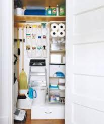 cleaning closet ideas white wood basket organization pantry closet and pantry