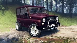 uaz 2016 315195 hunter turbo v3 0 for spin tires