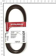 amazon com murray 37x87ma drive belt for lawn mowers patio