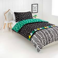 Bedroom Set Kmart Reversible Wild Thing Quilt Cover Set Double Bed Kmart Kids