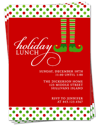 christmas lunch invitation invitation party invitation christmas dinner or lunch