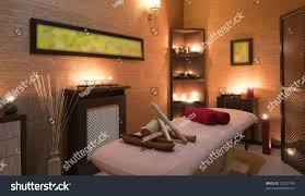 nice massage room spa saloon decorated stock photo 72221740