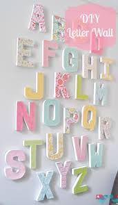 best 25 alphabet wall ideas on pinterest playroom decor how to make your own letter wall