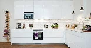 cuisine blanc mat carrelage metro blanc moneykings