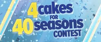cakes for abc news 20 20 4 cakes for 40 seasons contest abc news