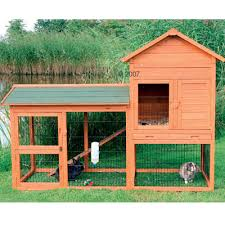 Cool Pets Rabbit Hutch This Unique Two Story Rabbit Hutch With Gabled Roof Is Ideal For