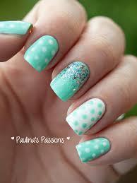 31dc2013 day 11 polka dot nails
