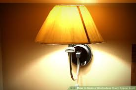 How To Make A Sconce Light Fixture How To Make A Windowless Room Appear Light 7 Steps