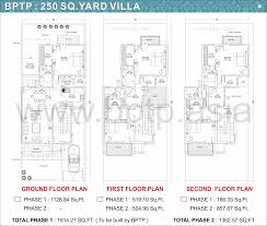villa floor plans bptp parkland villas faridabad floor plans bptp villa floor maps