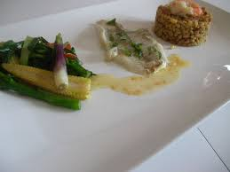 comment cuisiner le carrelet filet de carrelet mariné et dôme d ebly à la provençale et