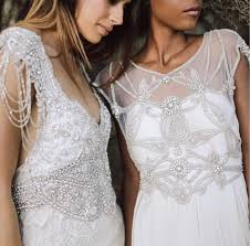 vintage wedding gowns miami modern bridal boutique vintage bohemian wedding dresses