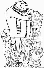stunning idea despicable coloring pages printable print